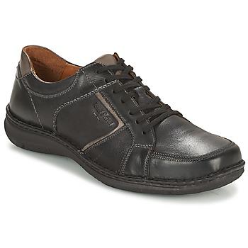 Shoes Men Derby Shoes Josef Seibel ANVERS 49 Black