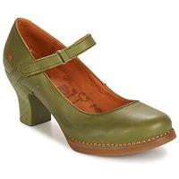 Shoes Women Heels Art HARLEM KAKI