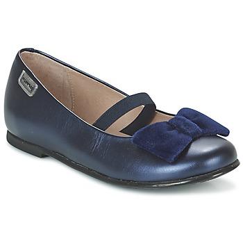 Shoes Girl Flat shoes Garvalin GARDEN Blue