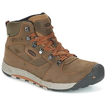 Shoes Men Walking shoes Keen WESTWARD MID LEATHER WP Black