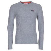 Clothing Men Long sleeved tee-shirts Superdry ORANGE LABEL VINTAGE Grey