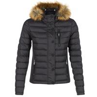 Clothing Women Duffel coats Superdry FUJI SLIM Black