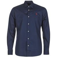 Clothing Men long-sleeved shirts U.S Polo Assn. ZED Marine