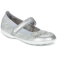 Shoes Girl Flat shoes Geox JR JODIE Avio