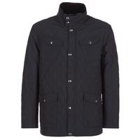 Clothing Men Jackets Gant THE CENTRAL POND QUILTER Black