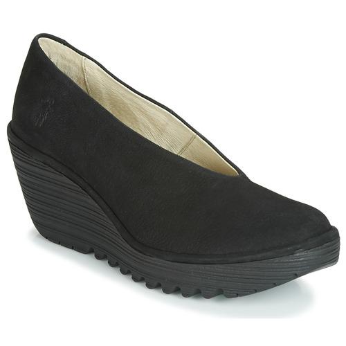 Shoes Women Heels Fly London CUPIDO Black