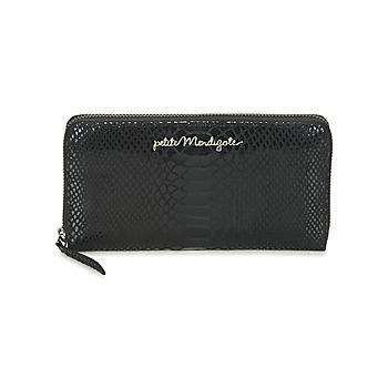 Bags Women Wallets Petite Mendigote GALIA Black