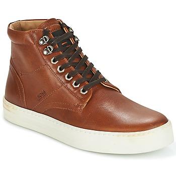 Shoes Men Hi top trainers Hugo Boss Orange NOIR HALB LTWS Cognac