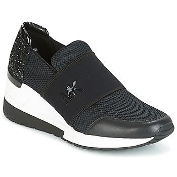 Shoes Women Low top trainers MICHAEL Michael Kors FELIX TRAINER Black