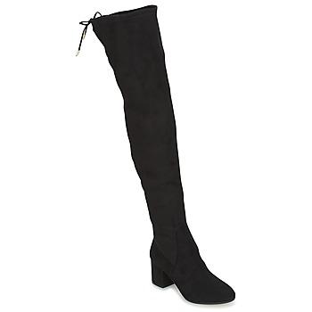 Shoes Women Thigh boots Jonak GINA Black