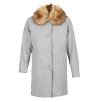 Clothing Women coats Naf Naf ADOUTA Grey