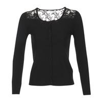 Clothing Women Jackets / Cardigans Naf Naf MOBRANDY Black