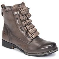 Shoes Women Mid boots Bugatti PETRI Grey / Dark