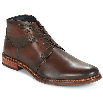 Shoes Men Mid boots Daniel Hechter STIVA Brown / Dark