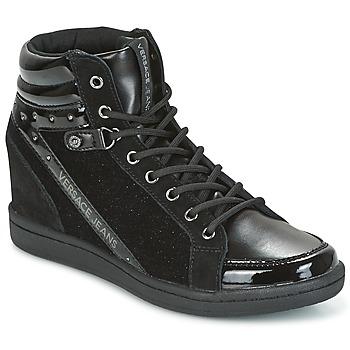 Shoes Women Hi top trainers Versace Jeans GERFI Black