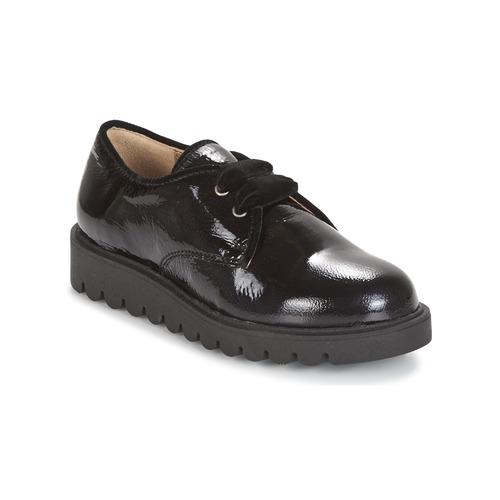 Shoes Girl Derby Shoes Unisa MICK Black