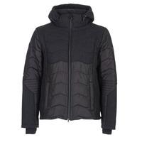 Clothing Men Duffel coats Emporio Armani EA7 MOUNTAIN M TECH JACKET Black