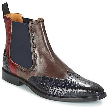 Shoes Men Mid boots Melvin & Hamilton MARTIN 5 Brown