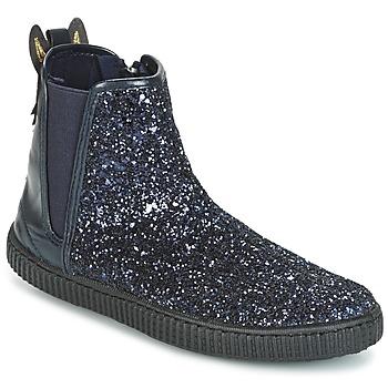 Shoes Girl Mid boots Chipie JARIOGLIT Marine