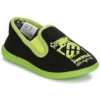 Shoes Boy Slippers Freegun FG NADAM Black