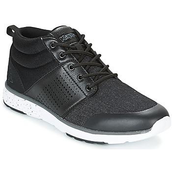 Shoes Men Hi top trainers Kappa NASSAU MID Black / Grey
