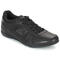 Shoes Men Low top trainers Kappa PARHELIE Black / Grey