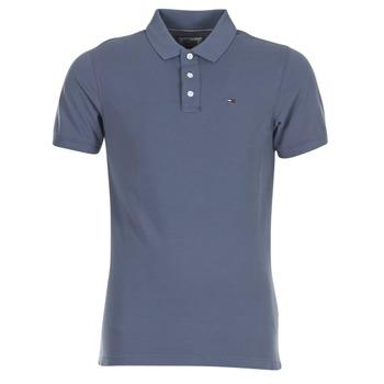 Clothing Men short-sleeved polo shirts Hilfiger Denim THDM BASIC POLO S/S 1 Grey