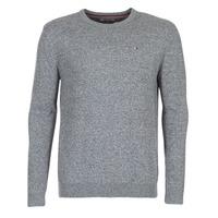 Clothing Men jumpers Hilfiger Denim THDM BASIC CN SWEATER 11 Grey