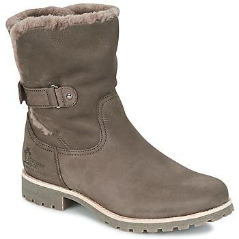 Shoes Women Mid boots Panama Jack FELIA Grey