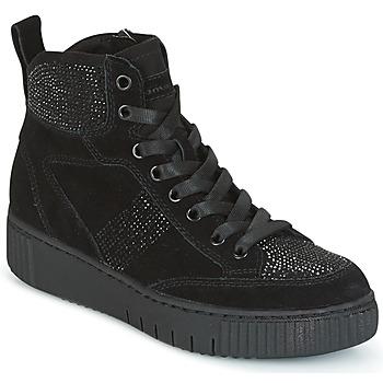 Shoes Women Hi top trainers Tamaris NARU Black