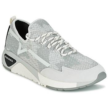 Shoes Men Low top trainers Diesel S-KBY Grey