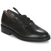 Shoes Women Derby Shoes Minna Parikka BUNNY LACE UP Black