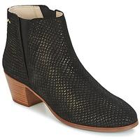Shoes Women Ankle boots M. Moustache JEANNE.M Black