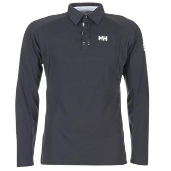 Clothing Men long-sleeved polo shirts Helly Hansen HP SHORE Marine
