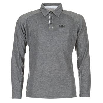 Clothing Men long-sleeved polo shirts Helly Hansen HP SHORE Grey