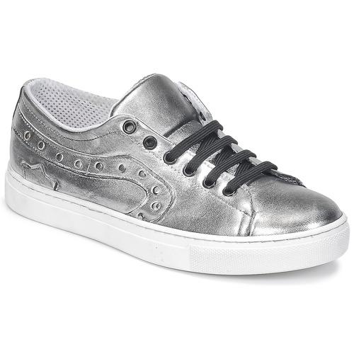 Shoes Women Low top trainers Lola Espeleta NOEME Silver