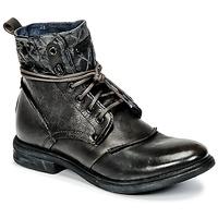 Shoes Men Mid boots Bunker BONO Grey