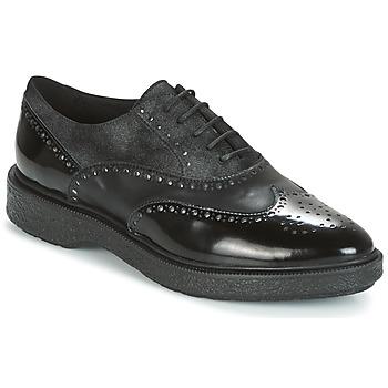 Shoes Women Derby Shoes Geox D PRESTYN Black