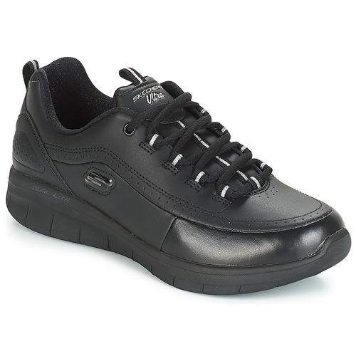 Shoes Women Fitness / Training Skechers SYNERGY 2.0 Women sport Black
