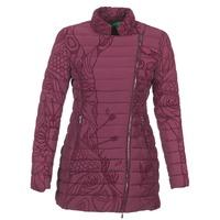 Clothing Women Duffel coats Desigual GIORDO Bordeaux