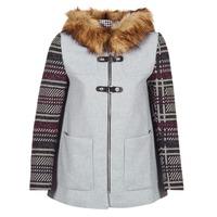 Clothing Women coats Desigual GERDI Grey