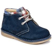 Shoes Boy Mid boots Citrouille et Compagnie HEYLI Marine