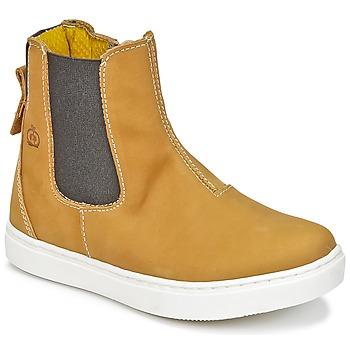 Shoes Boy Mid boots Citrouille et Compagnie HACHOU Brown