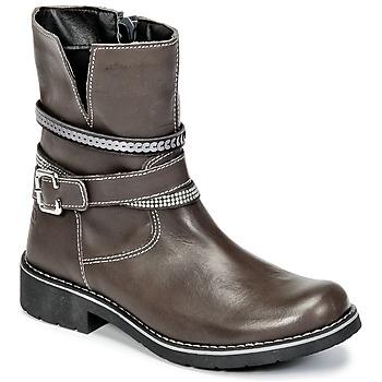 Shoes Girl Mid boots Citrouille et Compagnie HASU Grey
