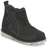 Shoes Boy Mid boots Citrouille et Compagnie HISSA Black