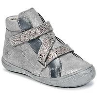 Shoes Girl Hi top trainers Citrouille et Compagnie HISSOU Grey