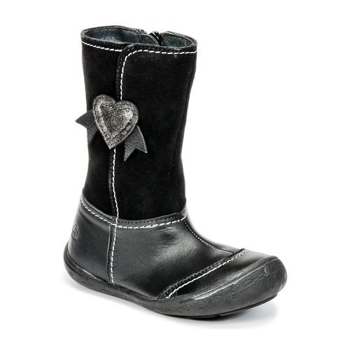 Shoes Girl High boots Citrouille et Compagnie HYDIL Black