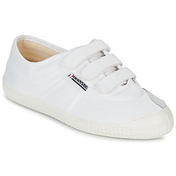 Shoes Low top trainers Kawasaki BASIC VELCRO White