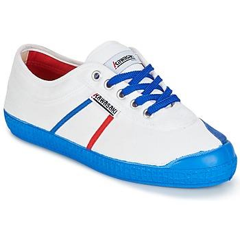 Shoes Men Low top trainers Kawasaki BASIC FANTASY White / Blue
