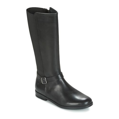 Shoes Girl High boots Start Rite GRACE LONG Black